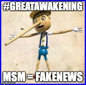 Lies | #GREATAWAKENING MSM = FAKENEWS | image tagged in lies | made w/ Imgflip meme maker
