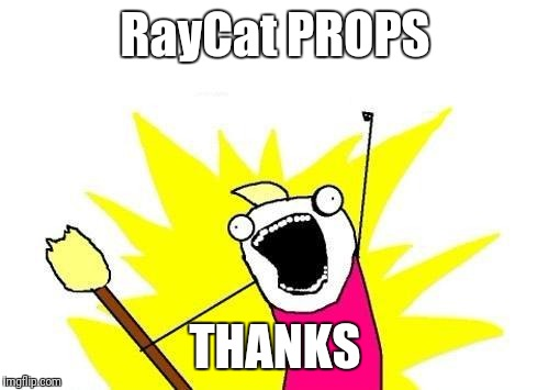X All The Y Meme | RayCat PROPS THANKS | image tagged in memes,x all the y | made w/ Imgflip meme maker