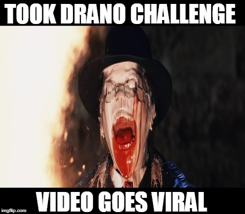 TOOK DRANO CHALLENGE VIDEO GOES VIRAL | made w/ Imgflip meme maker