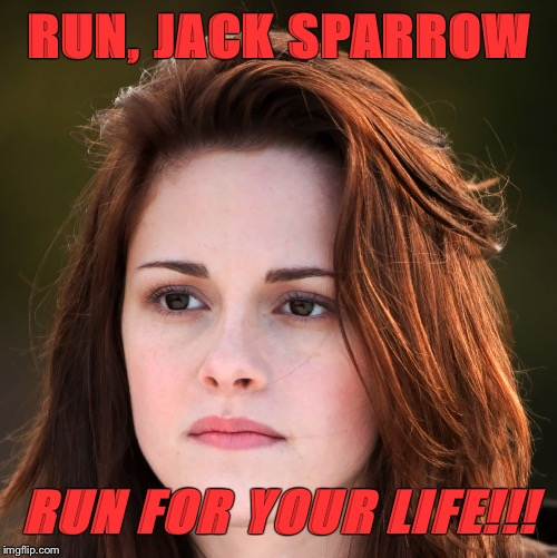 RUN, JACK SPARROW RUN FOR YOUR LIFE!!! | made w/ Imgflip meme maker