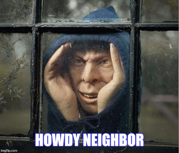 HOWDY NEIGHBOR | made w/ Imgflip meme maker