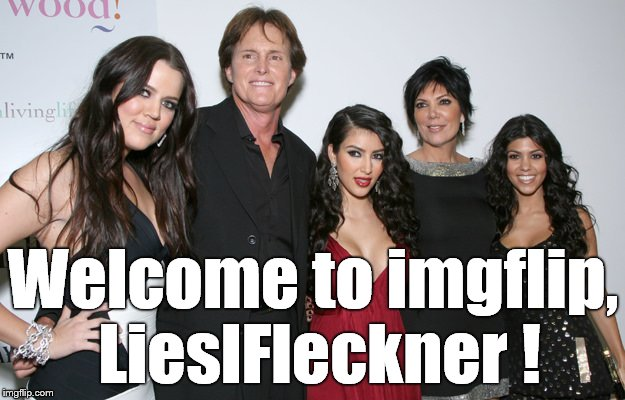 Jenner Christmas | Welcome to imgflip, LieslFleckner ! | image tagged in jenner christmas | made w/ Imgflip meme maker