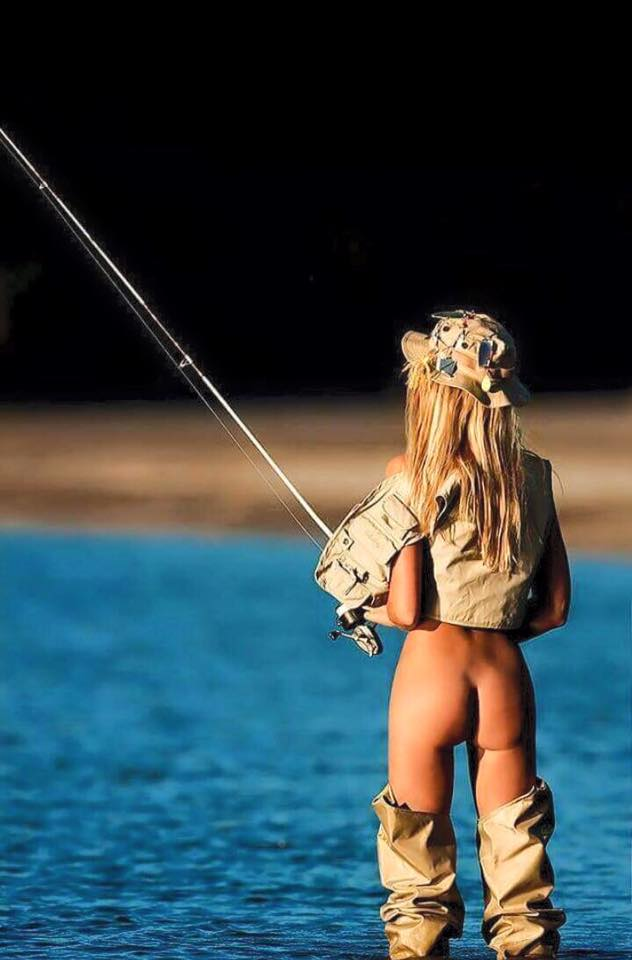 Would gif hot fishing naked