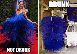the right side is me | DRUNK NOT DRUNK | image tagged in who wore it better,memes,funny | made w/ Imgflip meme maker