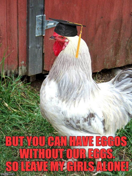 BUT YOU CAN HAVE EGGOS WITHOUT OUR EGGS. SO LEAVE MY GIRLS ALONE! | made w/ Imgflip meme maker