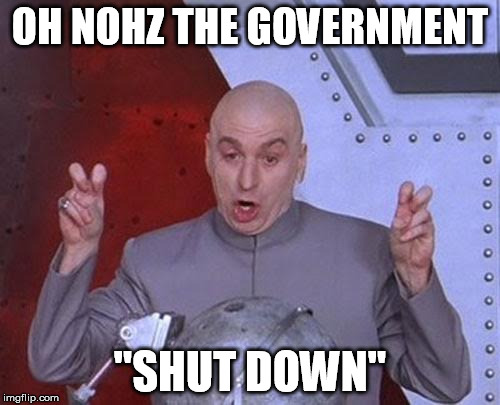 "Just like annoying people who ""quit"" but hang around regardless. 