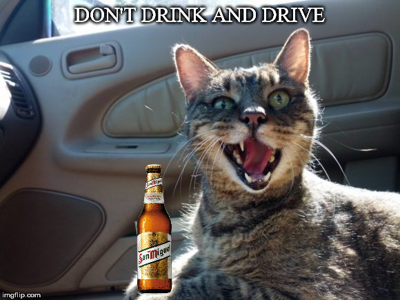 DON'T DRINK AND DRIVE | made w/ Imgflip meme maker