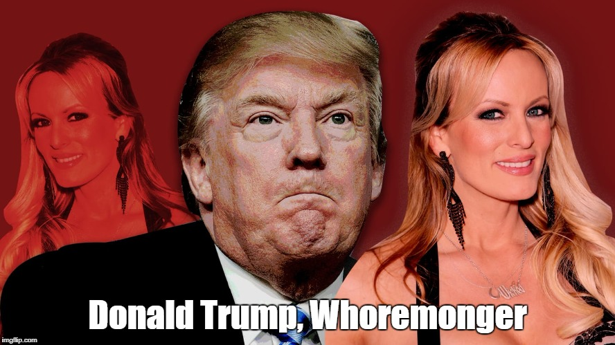 'Donadld Trump, Whoremonger"