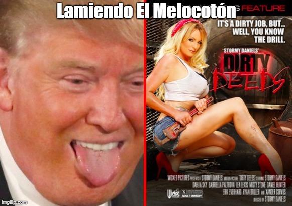 Lamiendo El Melocotón | made w/ Imgflip meme maker