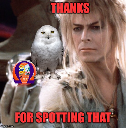 THANKS FOR SPOTTING THAT | made w/ Imgflip meme maker