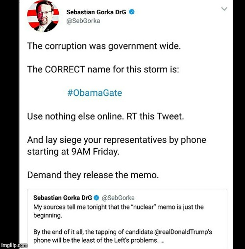 Obama gate | image tagged in obama gate,obama,donald trump,truth,2018 | made w/ Imgflip meme maker