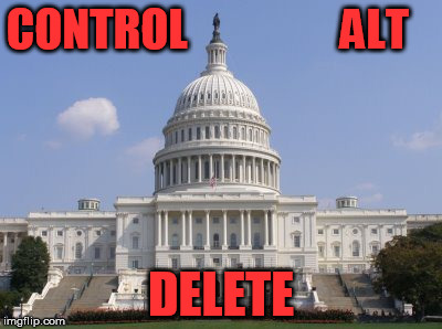shutdown | CONTROL                 ALT DELETE | image tagged in capital | made w/ Imgflip meme maker