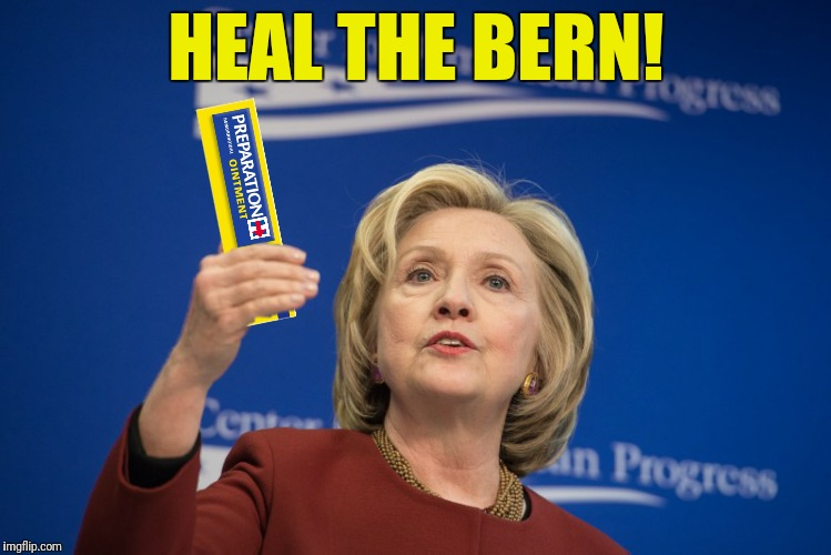 HEAL THE BERN! | made w/ Imgflip meme maker