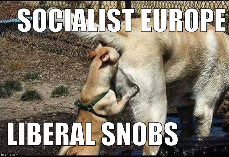 Liberal snobs | image tagged in butt kissing,liberal snobs,socialist idiots,retards | made w/ Imgflip meme maker
