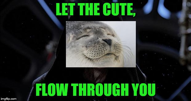 LET THE CUTE, FLOW THROUGH YOU | made w/ Imgflip meme maker