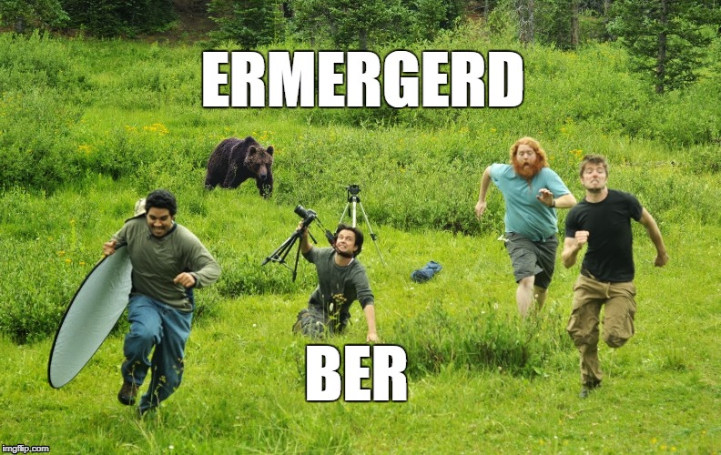 ERMERGERD BER | image tagged in funny memes | made w/ Imgflip meme maker