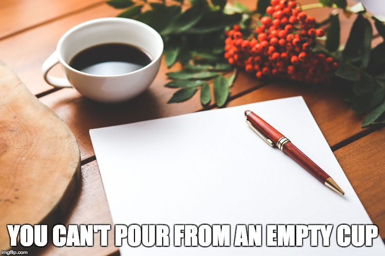 YOU CAN'T POUR FROM AN EMPTY CUP | image tagged in you can not pour from an empty cup | made w/ Imgflip meme maker