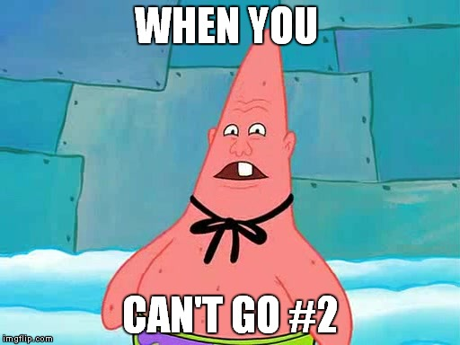 Pinhead Larry | WHEN YOU CAN'T GO #2 | image tagged in pinhead larry | made w/ Imgflip meme maker