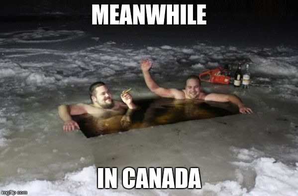 MEANWHILE IN CANADA | image tagged in meanwhile in canada | made w/ Imgflip meme maker