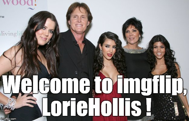Jenner Christmas | Welcome to imgflip, LorieHollis ! | image tagged in jenner christmas | made w/ Imgflip meme maker