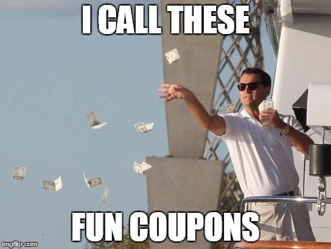 leo dicaprio fun coupons
