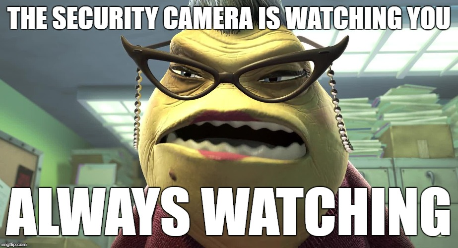 Damn right it is | THE SECURITY CAMERA IS WATCHING YOU ALWAYS WATCHING | image tagged in watching,always watching | made w/ Imgflip meme maker