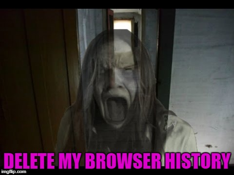 DELETE MY BROWSER HISTORY | made w/ Imgflip meme maker