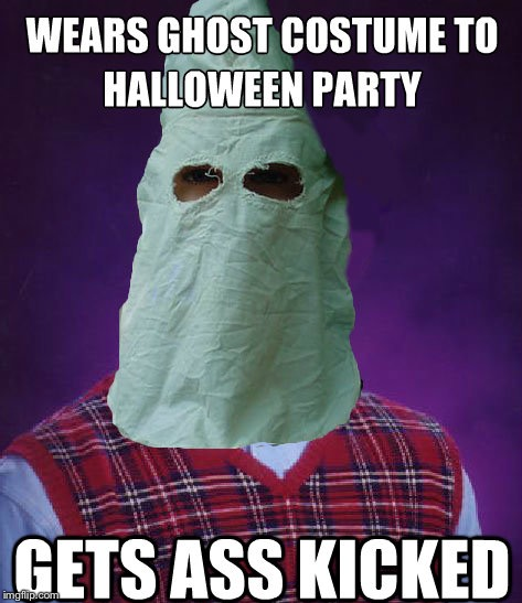 Ghost week Jan 22-27.   | . | image tagged in memes,bad luck brian,ghost week,beat up,hood | made w/ Imgflip meme maker