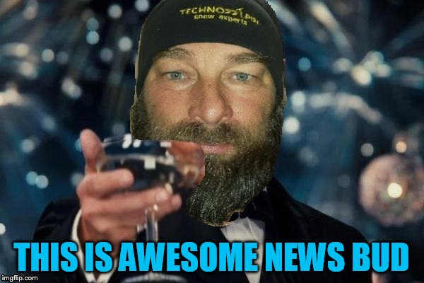THIS IS AWESOME NEWS BUD | made w/ Imgflip meme maker