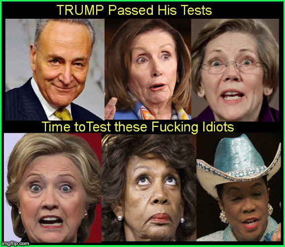 TRUMP Passed- Now them | image tagged in nancy pelosi,elizabeth warren,hillary jail,chuck schumer,liberalism is a mental disorder,politics lol | made w/ Imgflip meme maker