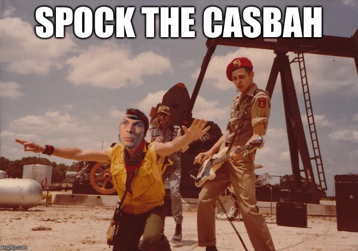 SPOCK THE CASBAH | made w/ Imgflip meme maker