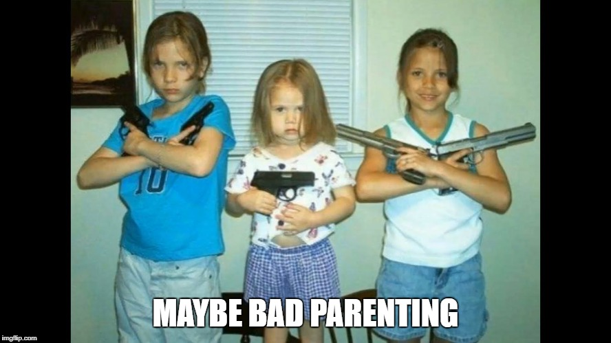 MAYBE BAD PARENTING | made w/ Imgflip meme maker