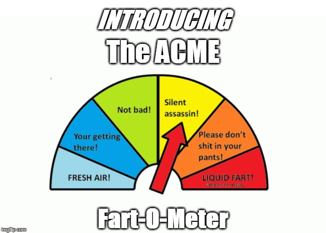 INTRODUCING Fart-O-Meter The ACME | made w/ Imgflip meme maker