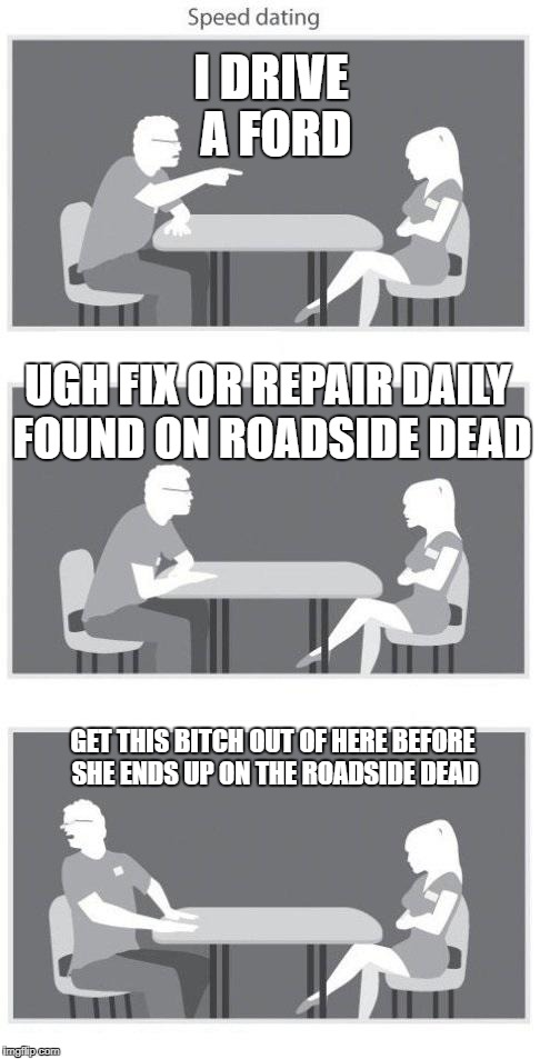 Bad speed dating