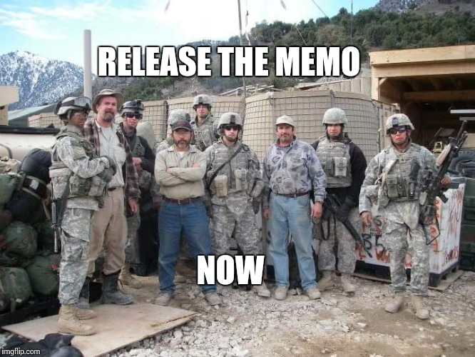 Release the Memo | RELEASE THE MEMO NOW | image tagged in politics,conservatives | made w/ Imgflip meme maker