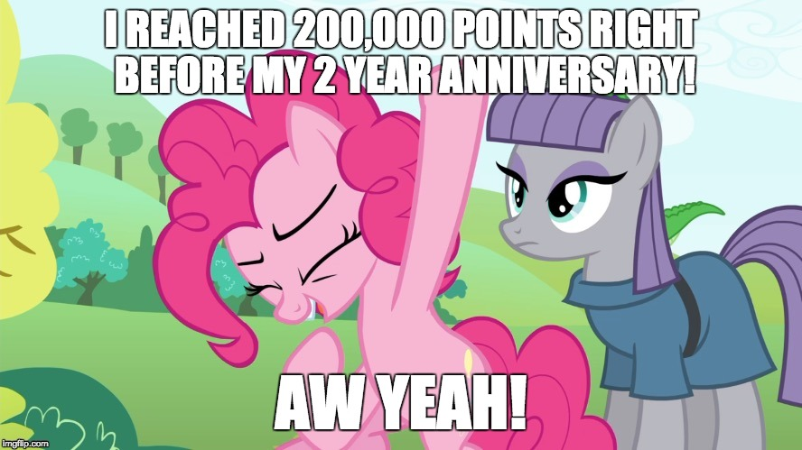 I almost wasn't going to make it! | I REACHED 200,000 POINTS RIGHT BEFORE MY 2 YEAR ANNIVERSARY! AW YEAH! | image tagged in another picture from,memes,points,imgflip anniversary | made w/ Imgflip meme maker