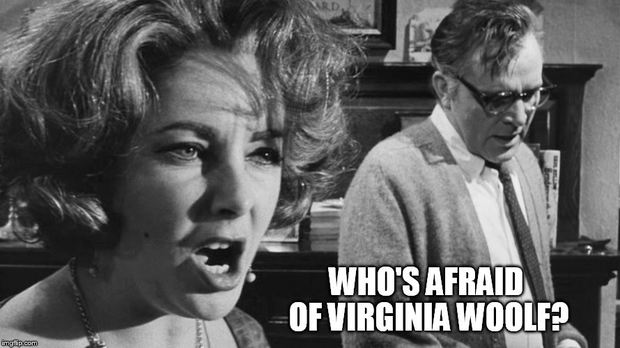 WHO'S AFRAID OF VIRGINIA WOOLF? | made w/ Imgflip meme maker