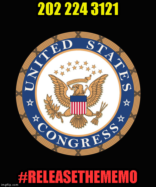 Congress seal | 202 224 3121 #RELEASETHEMEMO | image tagged in congress seal | made w/ Imgflip meme maker