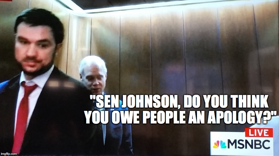 "Apologize Sen. ""Secret Society"" 
