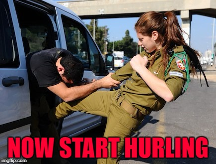 NOW START HURLING | made w/ Imgflip meme maker