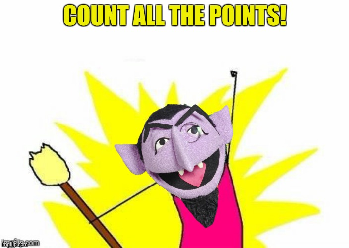 COUNT ALL THE POINTS! | made w/ Imgflip meme maker