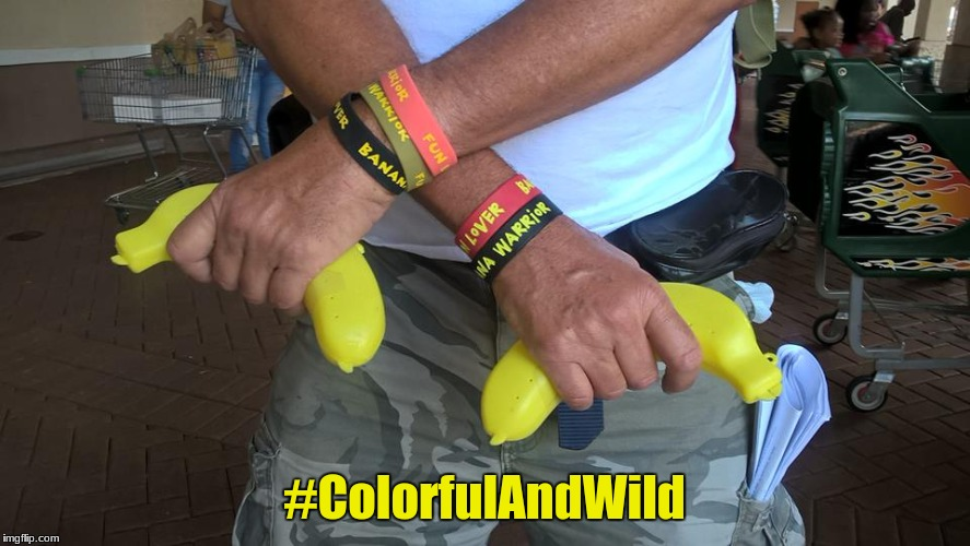 #ColorfulAndWild | made w/ Imgflip meme maker