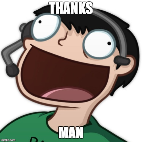 THANKS MAN | made w/ Imgflip meme maker