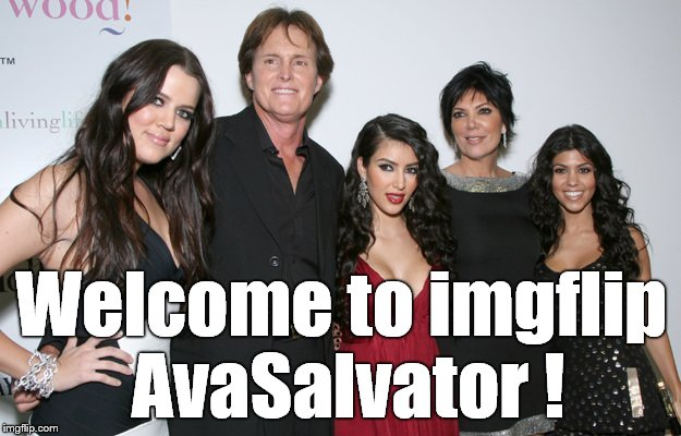 Jenner Christmas | Welcome to imgflip AvaSalvator ! | image tagged in jenner christmas | made w/ Imgflip meme maker