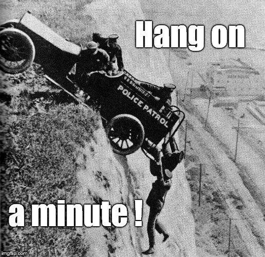 Hang on a minute ! | made w/ Imgflip meme maker