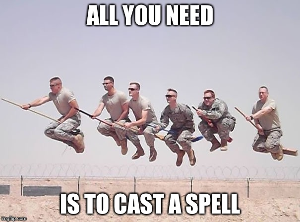 Hogwarts | ALL YOU NEED IS TO CAST A SPELL | image tagged in hogwarts | made w/ Imgflip meme maker