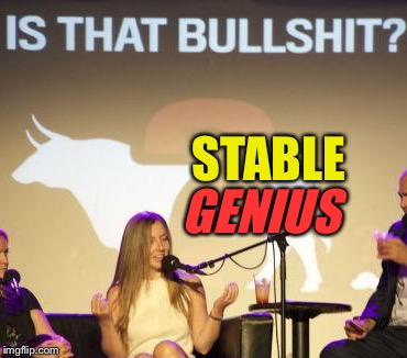 STABLE GENIUS | made w/ Imgflip meme maker