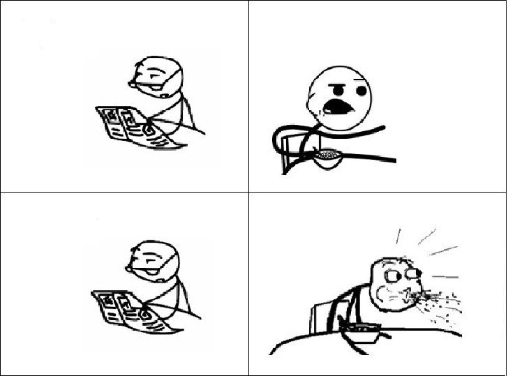 cereal guy and dad blank template imgflip