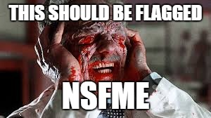 THIS SHOULD BE FLAGGED NSFME | made w/ Imgflip meme maker