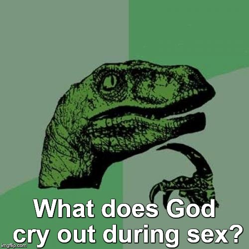"""Oh, me?"" 